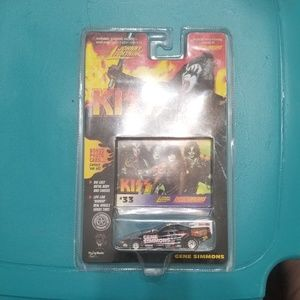 Johnny Lightning Kiss/The Demon car #33 Card